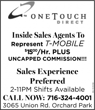 Inside Sales Agents