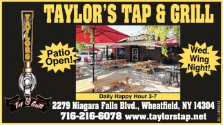 Patio Open!