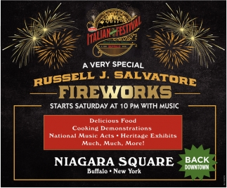 A Very Special Russell J. Salvatore Fireworks
