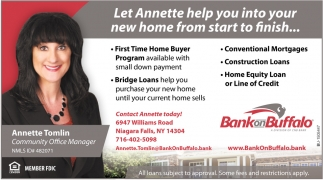 Let Annette Help You Into Your New Home from Start to Finish...