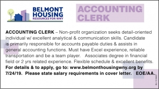 Accounting Clerk