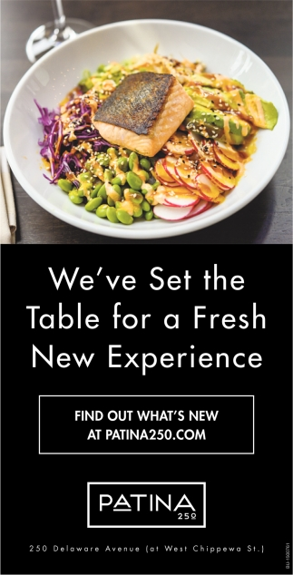 We've Set the Table for a Fresh New Experience
