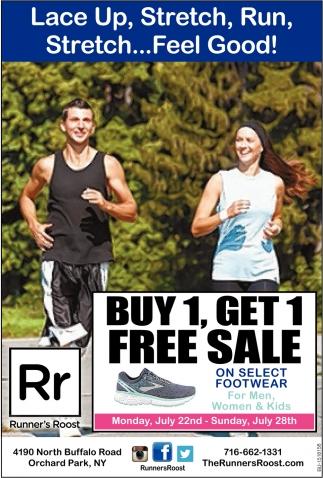 Buy 1, Get 1 FREE Sale on Select Footwear