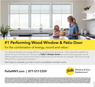 #1 Performing Wood Window & Patio Door