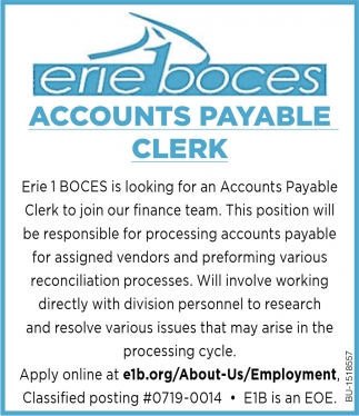Account Payable Clerk