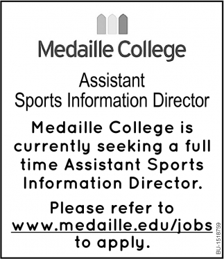 Assistant Sports Information Director
