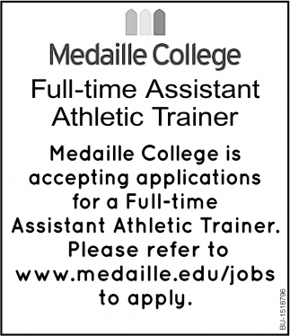 Full-Time Assistant Athletic Trainer