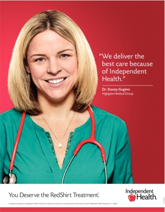 We Deliver the Best Care Because of Independent Health