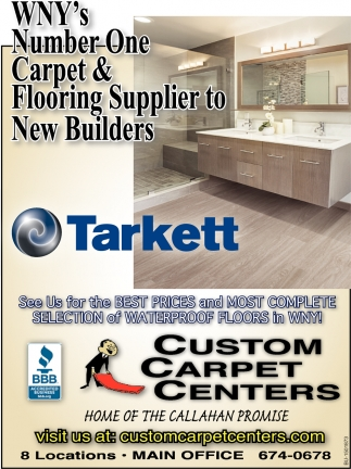 WNY's Number One Carpet & Flooring Supplier to New Builders