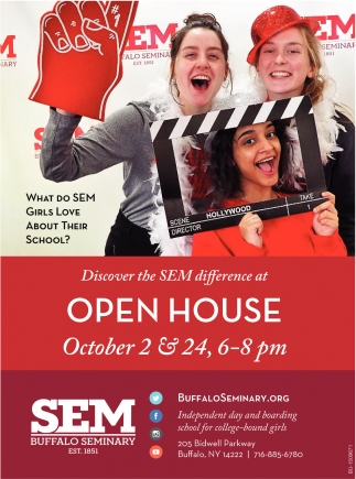 Discover the SEM Difference at Open House