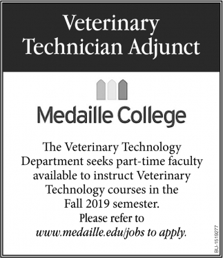 Veterinary Technician Adjunct