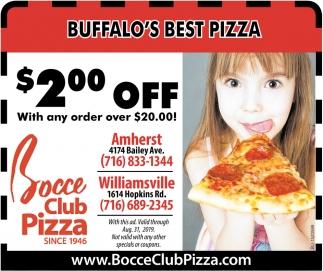 Buffalo's Best Pizza