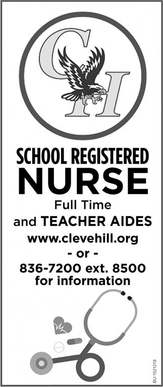 School Registered Nurse
