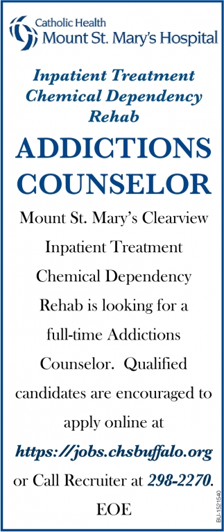 Addictions Counselor