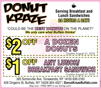 Serving Breakfast and Lunch Sandwiches 24 Hours a Day!