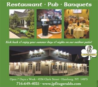 Restaurant, Pub, Banquets