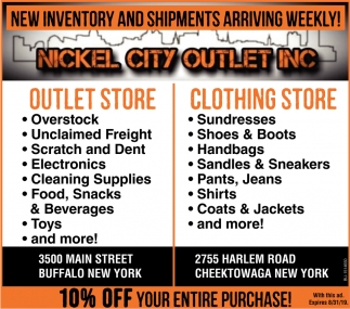 New Inventory and Shipments Arriving Weekly!