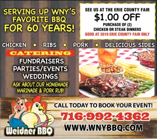 Serving Up WNY'S Favorite BBQ For 60 Years!
