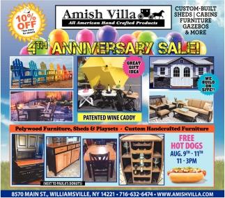 4th Anniversary Sale