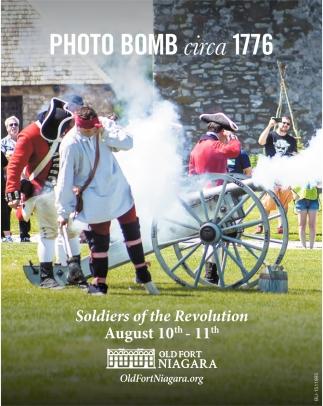 Photo Bomb circa 1776