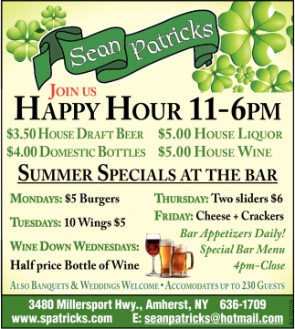 Join Us Happy Hour