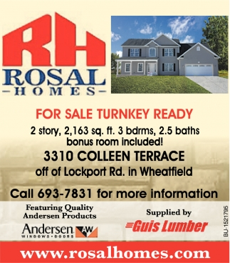 For Sale Turnkey Ready