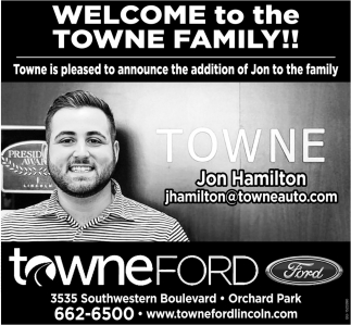 Welcome to the Towne Family!