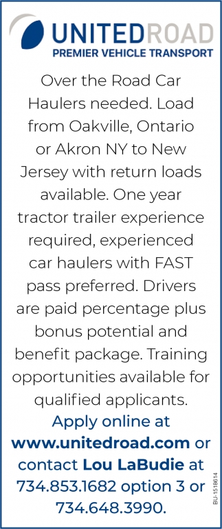 Car Haulers Needed