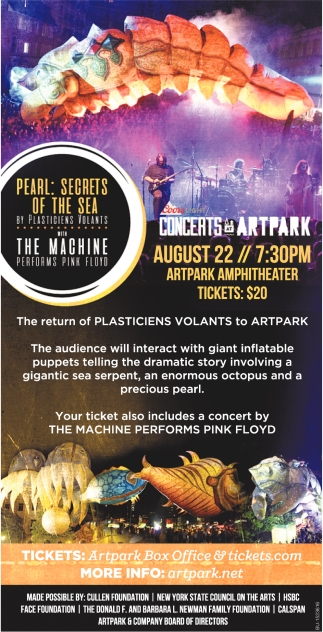 Concerts at Artpark