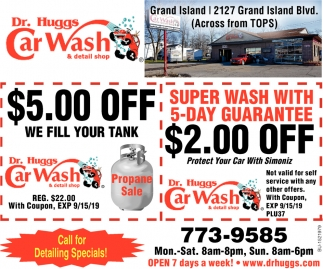 Super Wash with 5-Day Guarantee