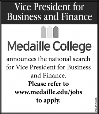 Vice President for Business & Finance
