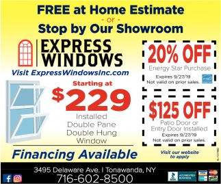 FREE at Home Estimate or Stop by Our Showroom