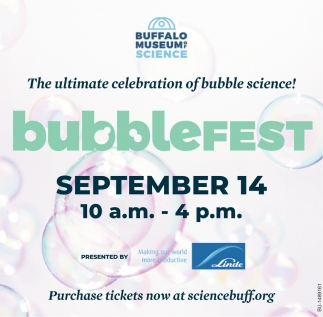 The Ultimate Celebration of Bubble Science!