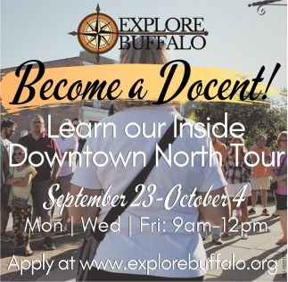 Become a Docent!