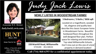 Newly Listed in Woodstream Farms!