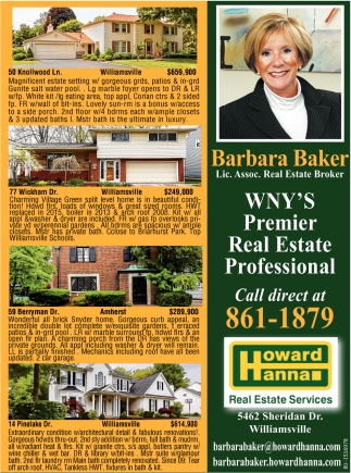 Lic. Assoc. Real Estate Broker