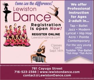 Registration is Open Now!