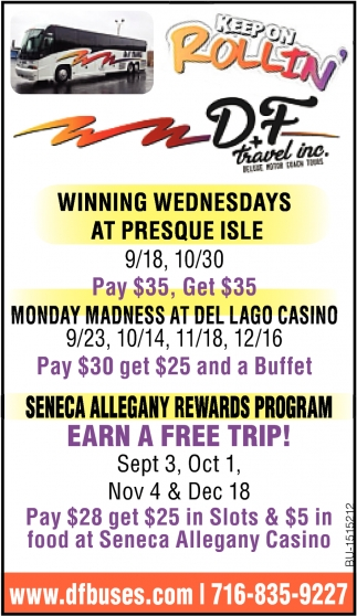 Winning Wednesdays at Presque Isle