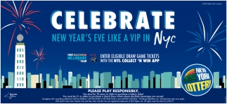 Celebrate New Year's Eve Like a Vip in NYC