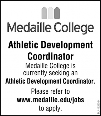 Athletic Development Coordinator