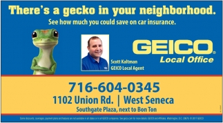 There's a Gecko in Your Neighborhood