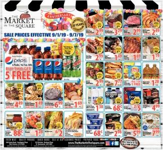Sale Prices Effective 9/1/19