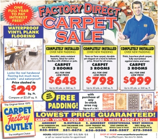 Carpet Sale