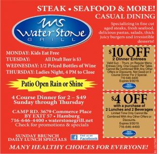 Steak - Seafood & More!