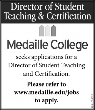 Director of Student Teaching & Certification