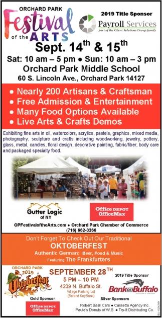 Nearly 200 Artisans & Craftsman