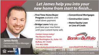 Let James Help You Into Your New Home from Start to Finish...