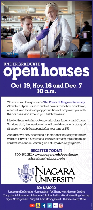 Undergratuate Open House
