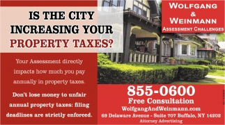 Is the City Increasing Your Property Taxes?