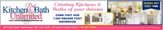Creating Kitchens & Baths of Your Dreams